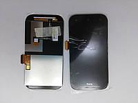 HTC Desire SV, T326e дисплей в зборі з тачскріном модуль чорний