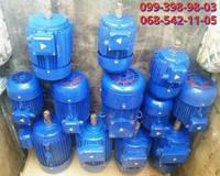 Электродвигатель бу складского хранения мощностью от 0.55 квт и оборотами 3000-1500-1000-750 об/мин