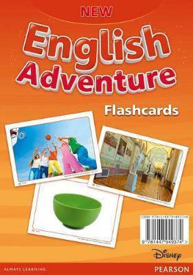 New English Adventure 2 Flashcards, фото 2