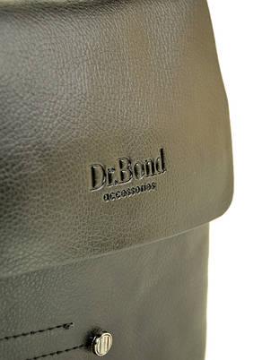Мужская сумка-планшет DR. BOND 204-1 black, фото 2