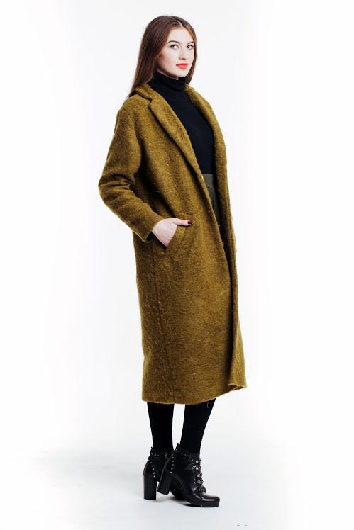 92843c6dde5 Модное женское пальто из итальянской шерсти букле - Интернет-магазин одежды