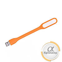 Фонарик гибкий LED USB 1.2W 4500K Orange