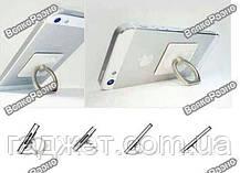 Кольцо держатель в серебряном цвете для смартфона, фото 2
