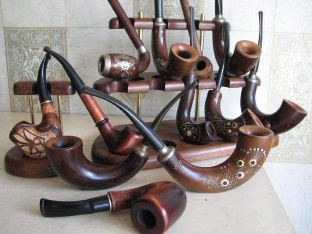 Трубки курительные, мундштуки