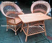 Мебель плетеная на веранду