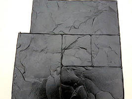 """Полиуретановый штамп для бетона """"Тесаный камень №1"""", для пола и дорожек"""