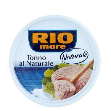 Консервированный тунец Rio Mare Natural в собственном соку 60г