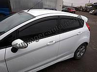 Ветровики, дефлекторы окон Ford Fiesta 2008-> (Hic)