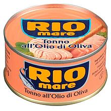Консервированный тунец Rio mare в масле 80г