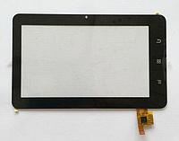Оригинальный тачскрин / сенсор (сенсорное стекло) для TOPSUN MID711A_A1 (черный цвет, самоклейка)
