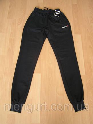 Штаны спортивные мужские  Reebok adidas nike на манжете, фото 2