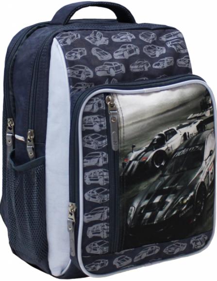 Рюкзак шкільний Гоночні машини