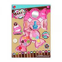 Набор детской косметики 10885F-3 конфета, 3яруса, тени, помада, лак