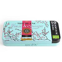 Органический белый чай  с ароматом цветов апельсина ,14 г Terre d'Oc