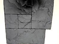 """Поліуретановий штамп для бетону """"Тесаний камінь №1"""", для підлоги і доріжок"""