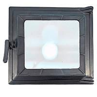 Топочная дверца для печи со стеклом Fenix 113