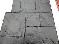"""Поліуретановий штамп для бетону """"Тесаний камінь №2"""", для підлоги і доріжок, фото 1"""
