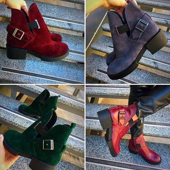 7dd21a52 Женские кожаные ботинки низкий ход Diesel -