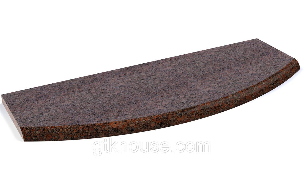 Радиальные камянные ступени
