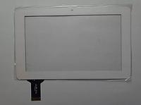 Оригинальный тачскрин / сенсор (сенсорное стекло) для Ergo Tab Crystal (белый цвет, самоклейка)