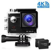 Автомобильный видеорегистратор Victure AC600 4K WIFI (Екшн-камера, WEB-камера)
