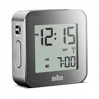Часы/будильник Braun BNC008GY-RC, цифровой, серый, глобальное управление
