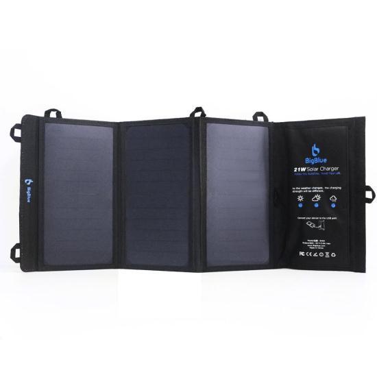 Зарядное устройство SOLAR BigBlue B401 SunPower 3 USB-порта для iPhone iPad Samsung Galaxy LG