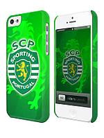 Чехол для iPhone 4/4s/5/5s/5с, Спортинг Португалия