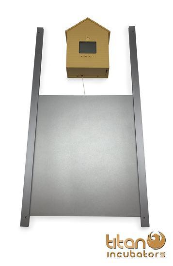 Механизм автоматического открывания дверцы курятника Titan Incubators