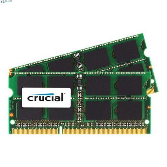 Модуль памяти для Mac Crucial 2x8GB 1600MHz DDR3 CL11 SODIMM 1.35V (CT2C8G3S160BMCEU)