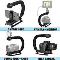 Монопод Fantaseal 4-in-1 (Смартфон + экшнкамера + видеокамера + DSLR стаиілизатор камеры)