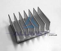 Радиаторный профиль алюминиевый 72х26мм без покрытия