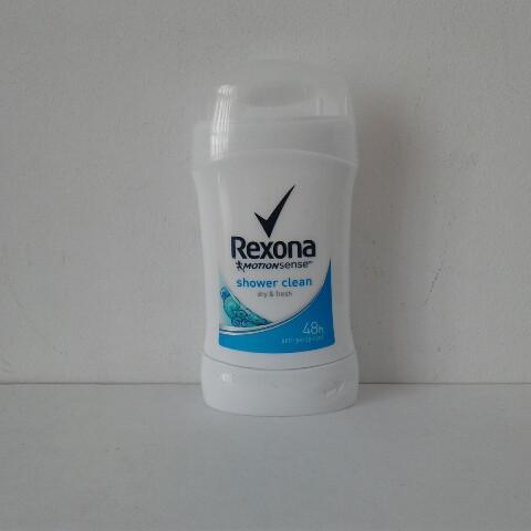 Tвердый женский дезодорант антиперспирант Rexona Свежесть душа 40 мл.