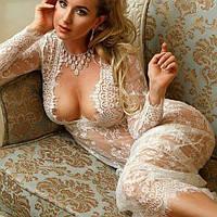 Длинное платье в пол М