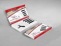 Набор керамических ножей Royalty Line 5 pcs (RL-C4B), Швейцария