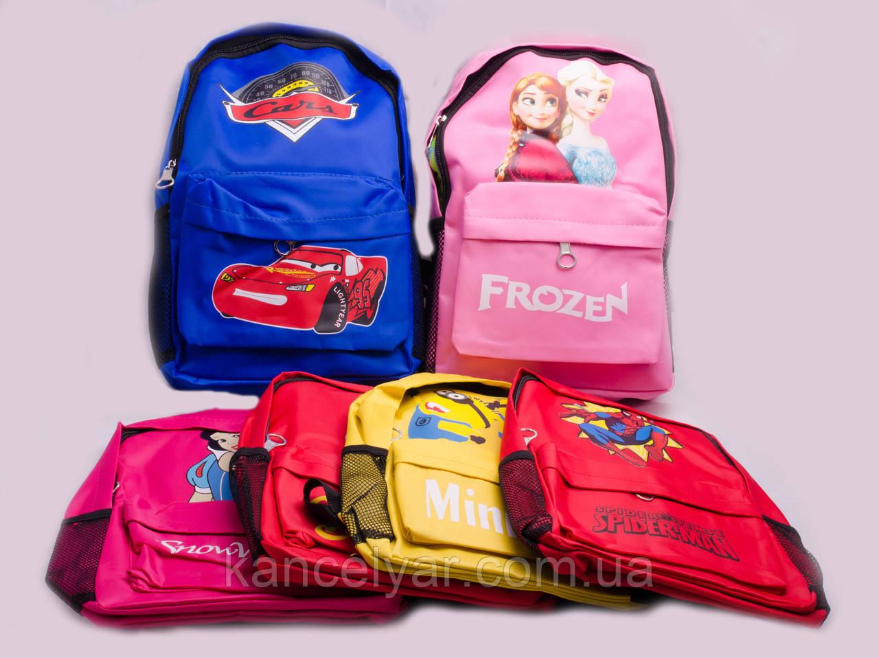 Рюкзак тканевый детский, в ассортименте