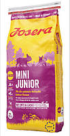 Josera Mini Junior сухий корм для цуценят міні порід з 3-го тижня життя.
