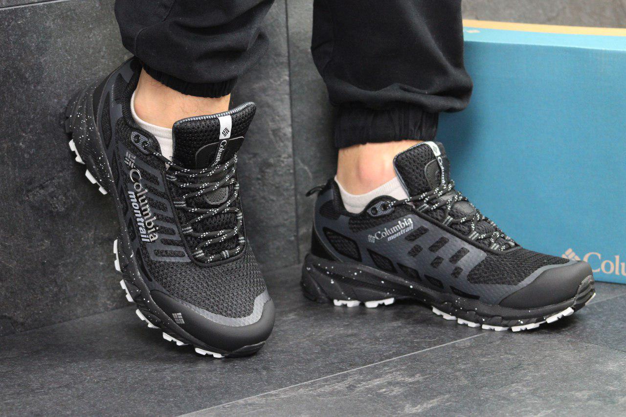 c196b91283d2 Мужские кроссовки Columbia коламбия черные - Сетка,носок резина,подошва  пена+резина,