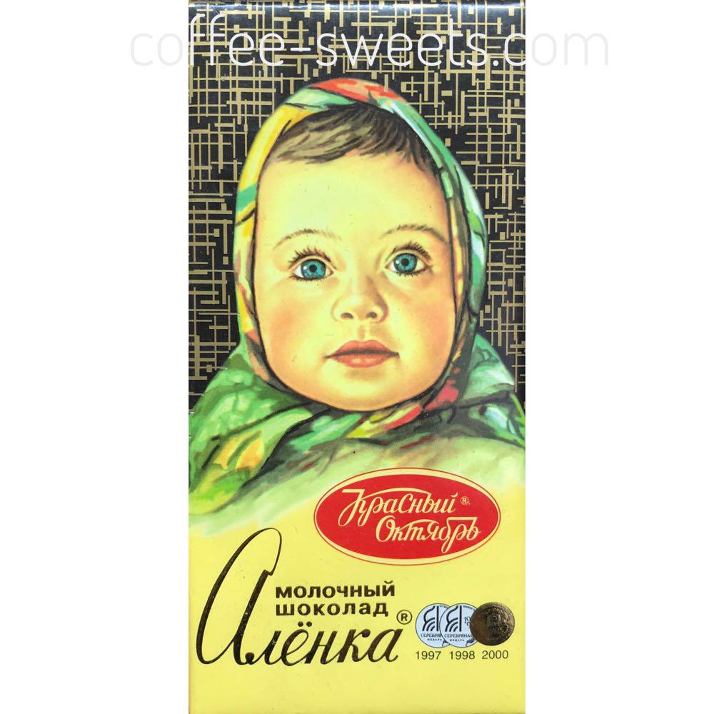 Шоколад Красный Октябрь Аленка молочный 60г