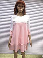Нежное женское платье производства Турции р 38 (наш 44)