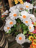 Искусственные цветы Разные цвета в упаковке Букеты ромашек