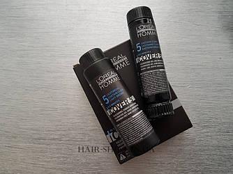 Безаммиачный окрашивающий гель для волос 3x50ml - L'Oreal ProfessionnelCover 5 №5 (Светлый шатен)НОВИНКА
