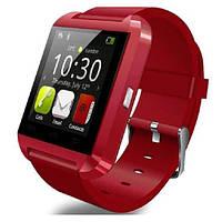Умные часы Pandaoo U8 Bluetooth Smart Watch для Android красные