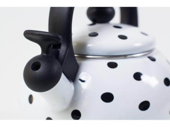 Чайник газовый Edel Hoff Swiss EH 5030 2.2 l (EH5030), белый