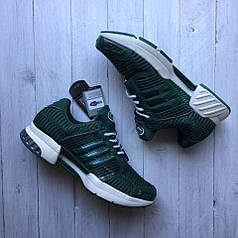 Мужские кроссовки Adidas Climacool 1 зеленые