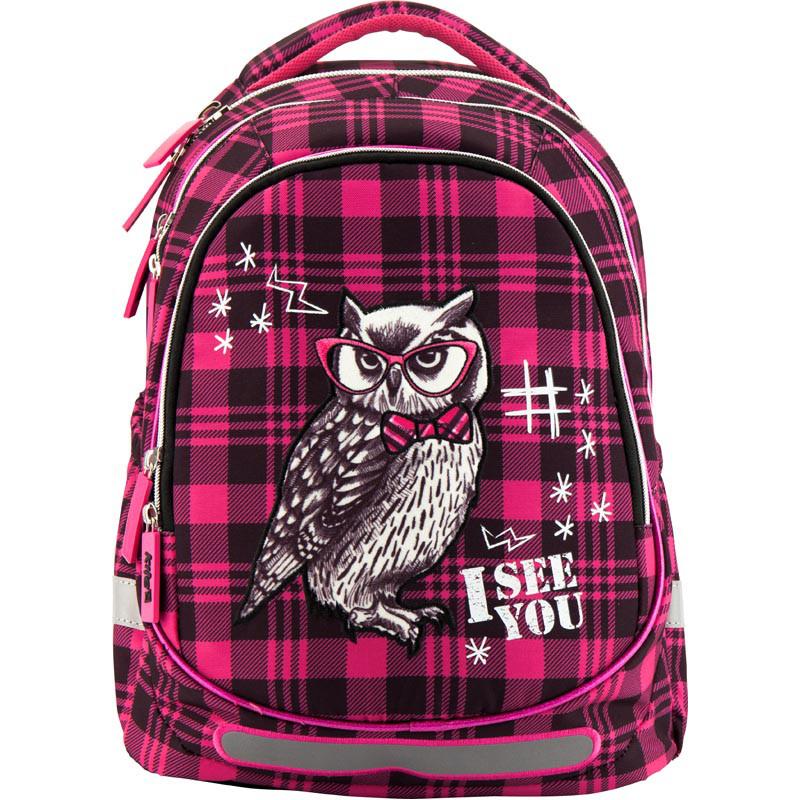 0465e4327957 K18-700M-2 Рюкзак школьный KITE 2018 Smart owl 700-2, цена 1 020 грн ...