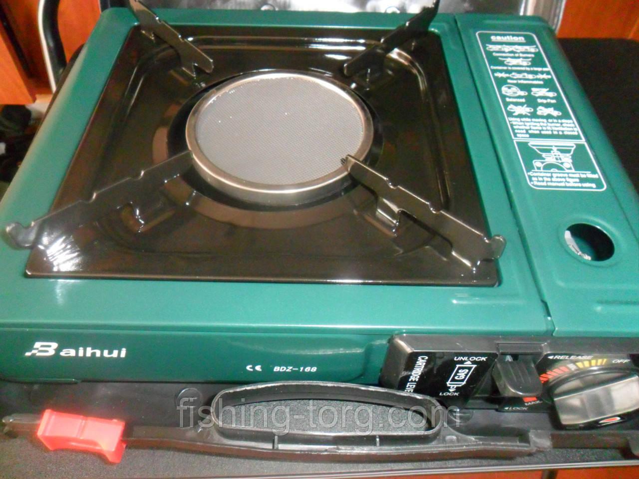 Портативная печь инфра- керамика в кейсе