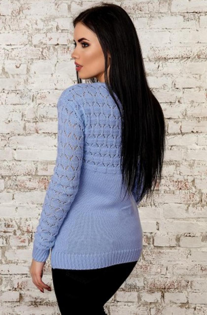 f9acecd1e05 Светло-голубая модная кофточка  продажа