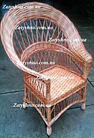 Плетеные кресло из лозы, фото 1