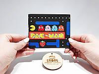 Прикольный Кошелек игра pac man пакман Унисекс, фото 1